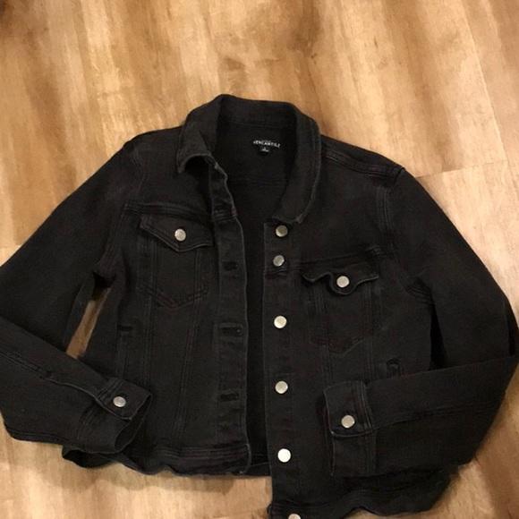 J. Crew Mercantile black jean jacket